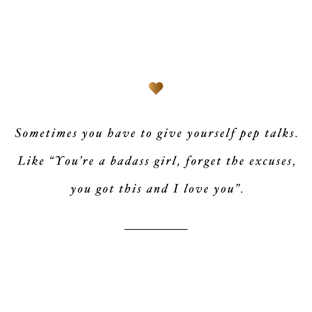 Give yourself pep talks! Browse our collection of inspirational wellness and healthy lifestyle quotes and get instant self-love and fitness motivation. Stay focused and get fit, healthy and happy! https://www.spotebi.com/workout-motivation/give-yourself-pep-talks/