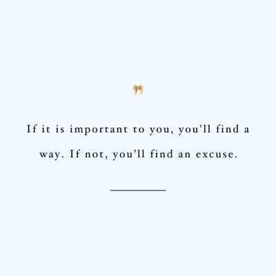 You Will Find A Way | Motivational Self-Love And Healthy Lifestyle Quote / @spotebi