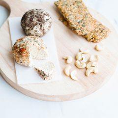 Easy Probiotic Cashew Cheese Recipe / @spotebi