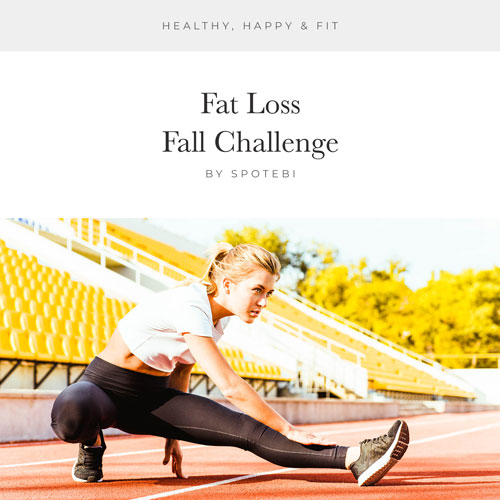 Fat Loss Fall Challenge / @spotebi