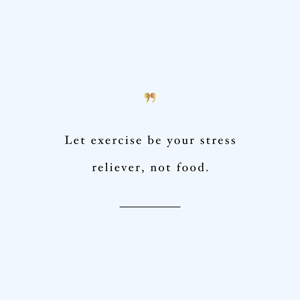 Let exercise be your stress reliever! Browse our collection of motivational self-love and wellness quotes and get instant fitness and healthy lifestyle inspiration. Stay focused and get fit, healthy and happy! https://www.spotebi.com/workout-motivation/let-exercise-be-your-stress-reliever/