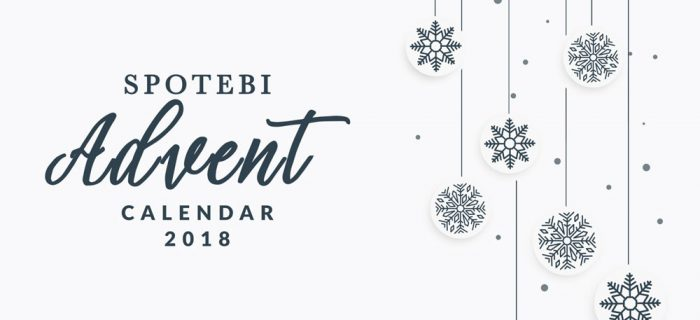 Spotebi Advent Calendar 2018 / @spotebi
