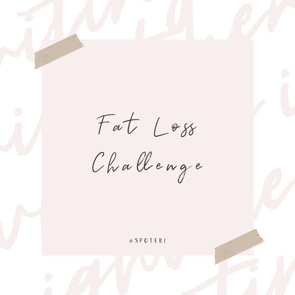 Fat Loss Challenge   Spotebi