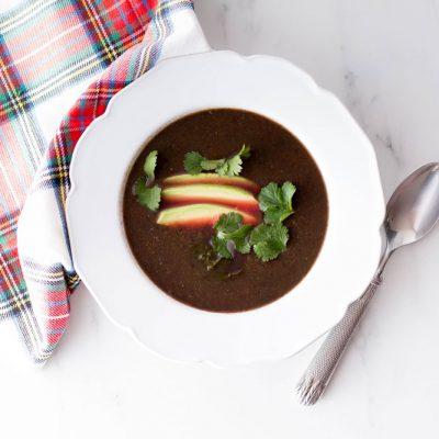 Veggie Soup Template Recipe / @spotebi