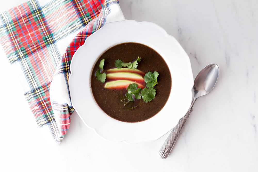 The perfect veggie soup template starts with homemade vegetable stock and seasonal vegetables. Add at least one vegetable or fruit from each of the main color families, this way your soup will be extra healthy and healing! https://www.spotebi.com/recipes/veggie-soup-template-recipe/