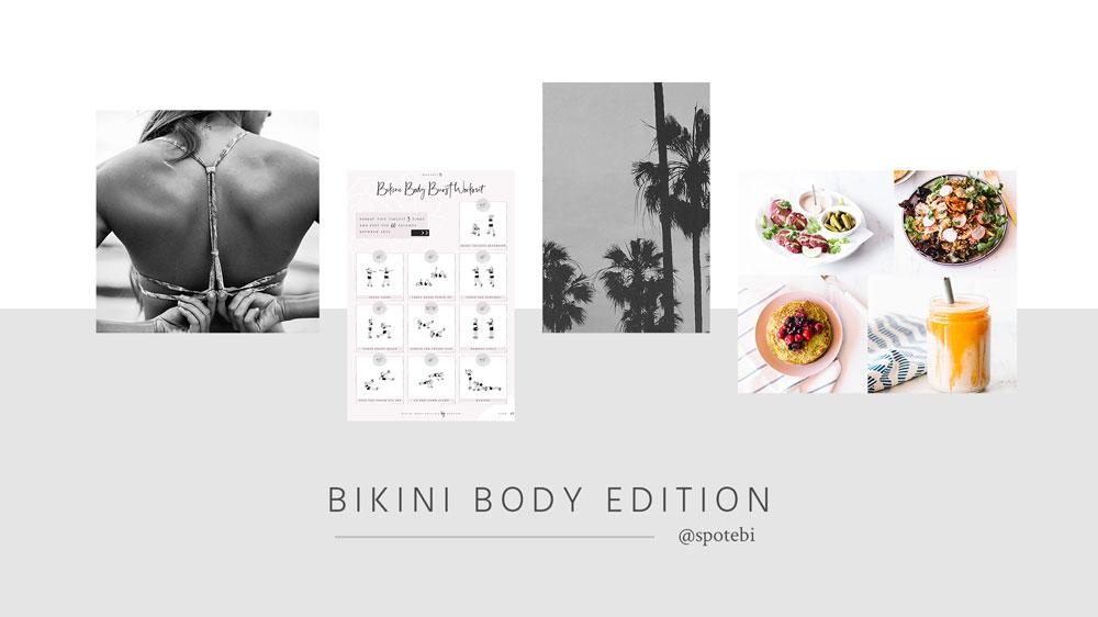 Bikini Body Challenge   Spotebi