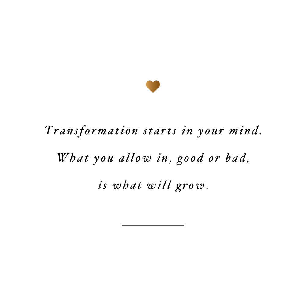 It starts in your mind! Browse our collection of inspirational fitness and self-love quotes and get instant health and wellness motivation. Stay focused and get fit, healthy and happy! https://www.spotebi.com/workout-motivation/it-starts-in-your-mind/