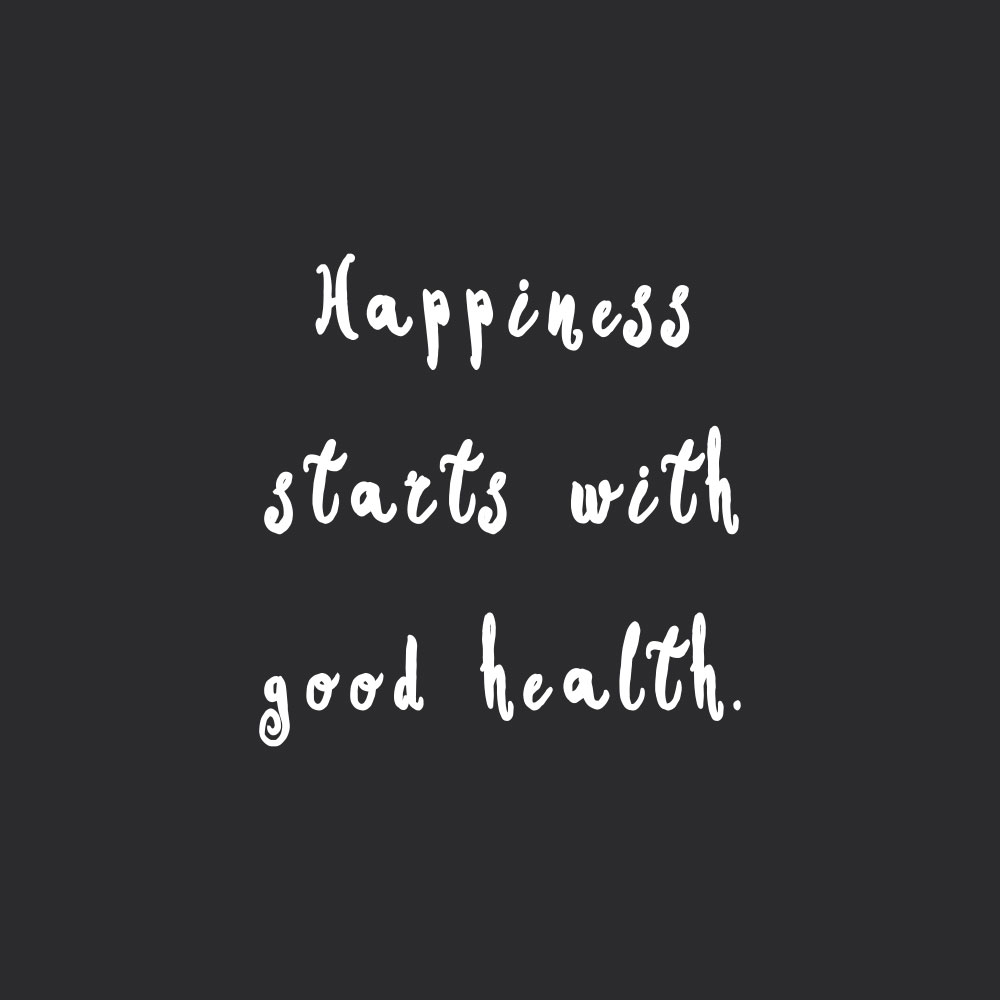 Happiness starts with good health! Browse our collection of motivational wellness and wellbeing quotes and get instant fitness and training inspiration. Stay focused and get fit, healthy and happy! https://www.spotebi.com/workout-motivation/happiness-starts-with-good-health/