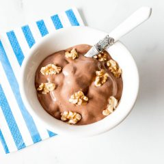 Post-Workout Chocolate Banana Nice Cream Recipe / @spotebi