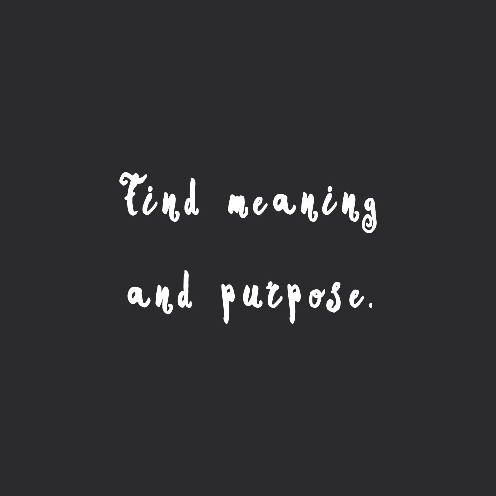 Find meaning and purpose! Browse our collection of motivational fitness and healthy eating quotes and get instant wellness and self-love inspiration. Stay focused and get fit, healthy and happy! https://www.spotebi.com/workout-motivation/find-meaning-and-purpose/