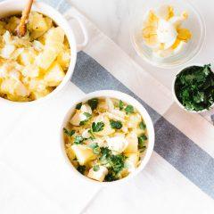 High-Protein Fish & Potato Warm Salad Recipe / @spotebi