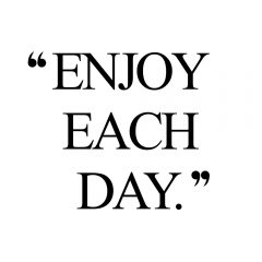 Enjoy Each Day | Fitness And Self-Care Motivation / @spotebi