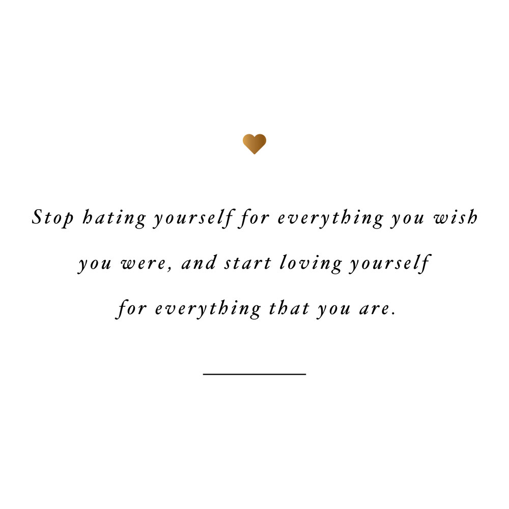 Love Yourself For Everything That You Are Motivational Wellness And Self Love Quote