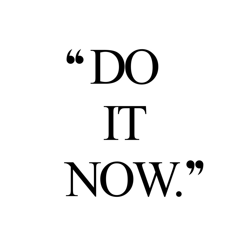 Do it now! Browse our collection of inspirational wellness and exercise quotes and get instant health and fitness motivation. Stay focused and get fit, healthy and happy! https://www.spotebi.com/workout-motivation/do-it-now/