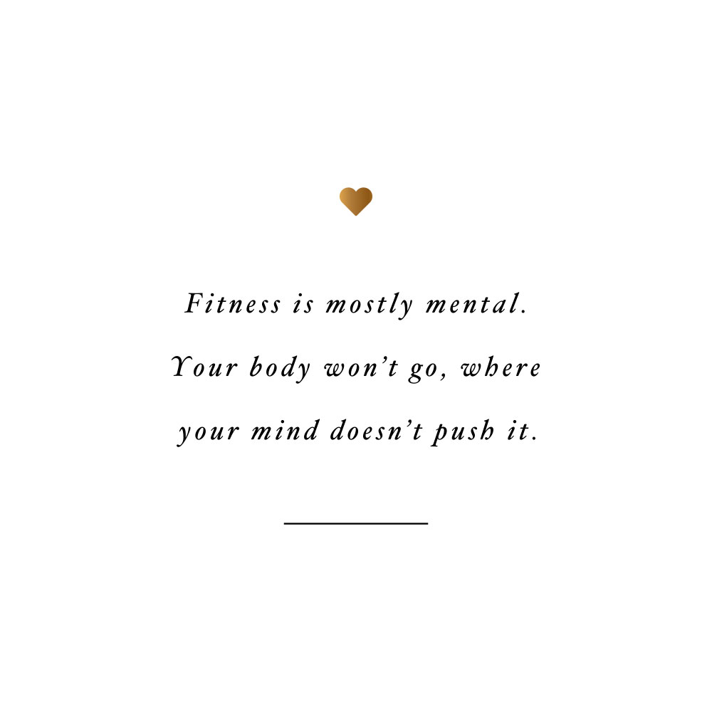 Push your body! Browse our collection of motivational fitness and self-care quotes and get instant wellness and exercise inspiration. Stay focused and get fit, healthy and happy! https://www.spotebi.com/workout-motivation/push-your-body/