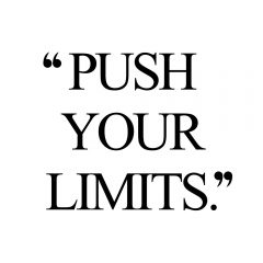 Push Your Limits | Wellness And Exercise Motivation / @spotebi