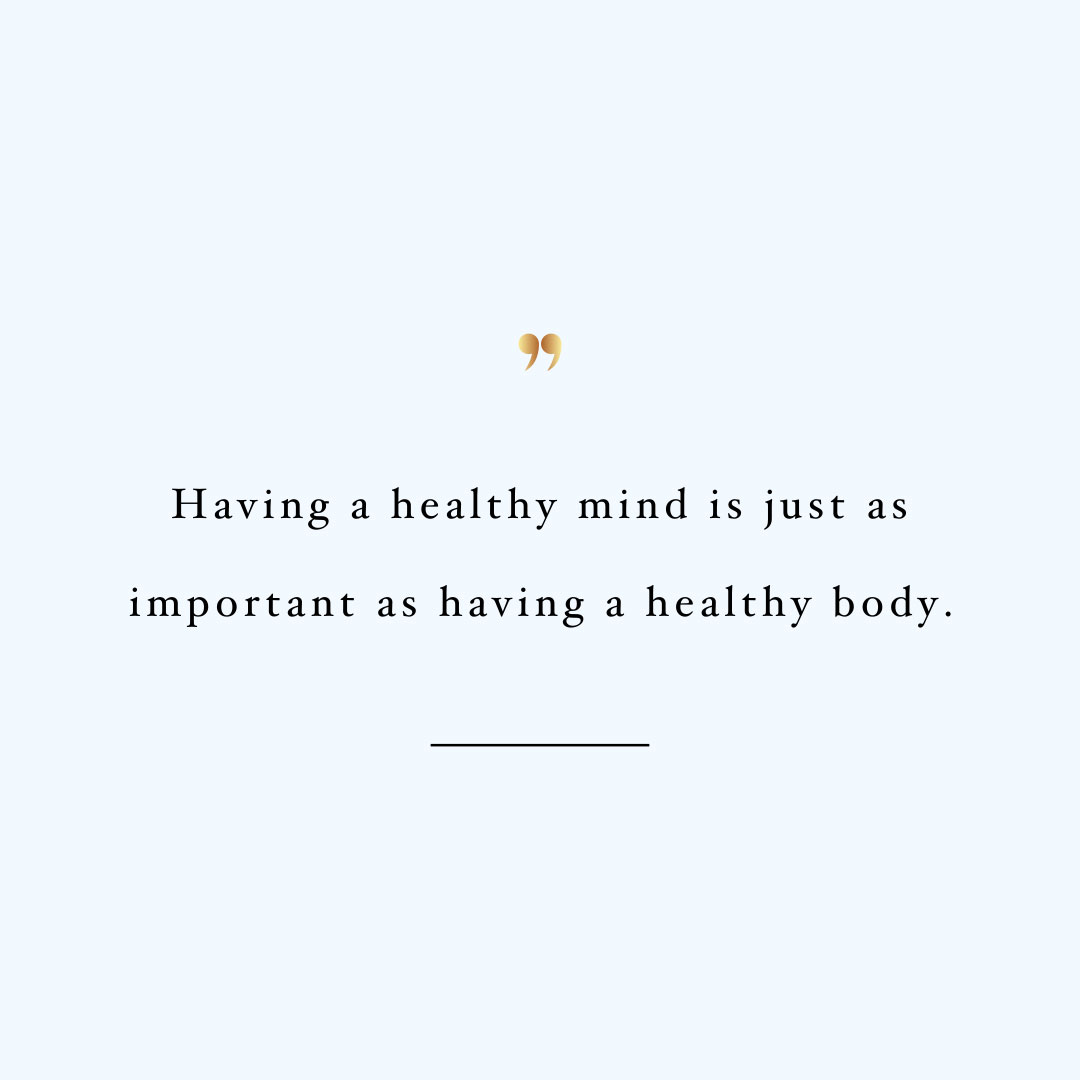 Healthy mind healthy body! Browse our collection of inspirational exercise and healthy lifestyle quotes and get instant fitness and self-care motivation. Stay focused and get fit, healthy and happy! https://www.spotebi.com/workout-motivation/healthy-mind-healthy-body/