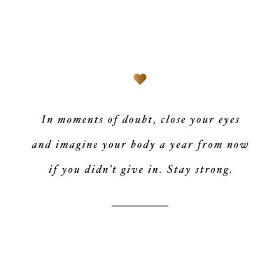 Stay Strong | Exercise And Healthy Lifestyle Motivation / @spotebi