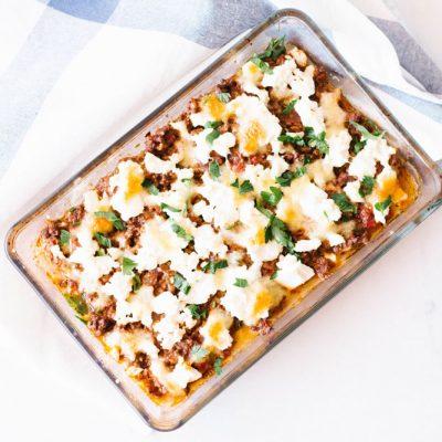 Low-Calorie & High-Protein Zucchini Lasagna Recipe / @spotebi