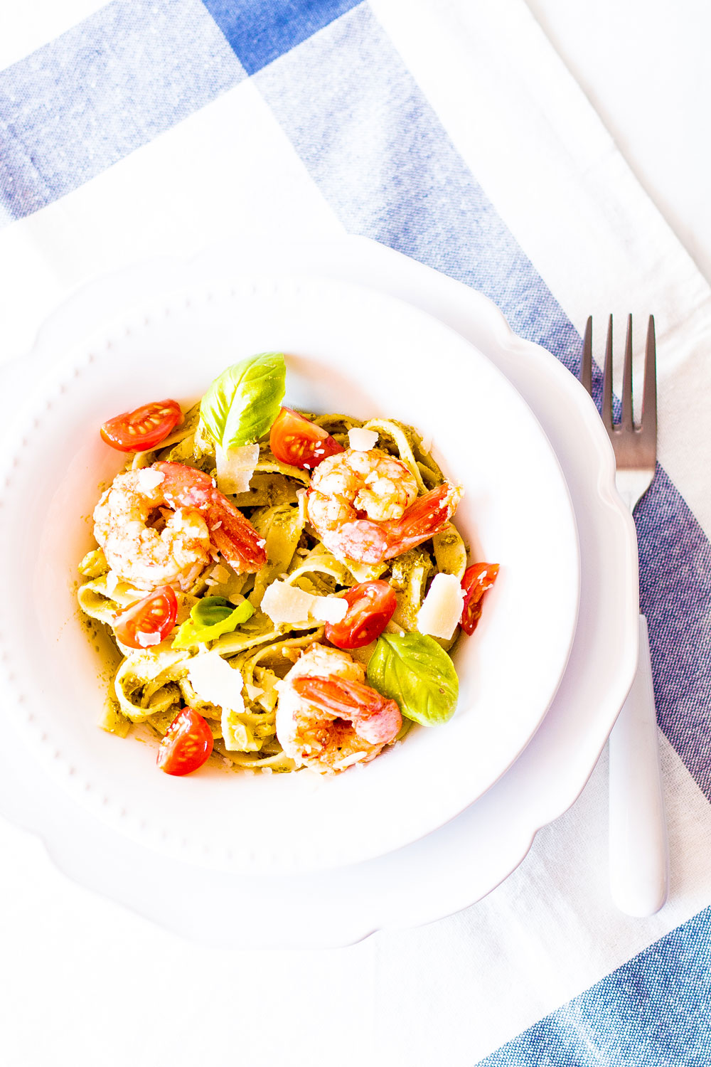 After your workout, make this 20-Minute Pesto Shrimp Pasta and keep the recovery process moving! Dense carb meals, that are also rich in protein and healthy fats, are best consumed after exercise. https://www.spotebi.com/recipes/20-minute-pesto-shrimp-pasta/