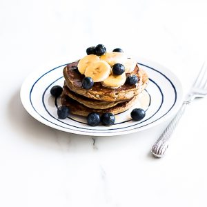Blueberry Banana Pancakes / @spotebi