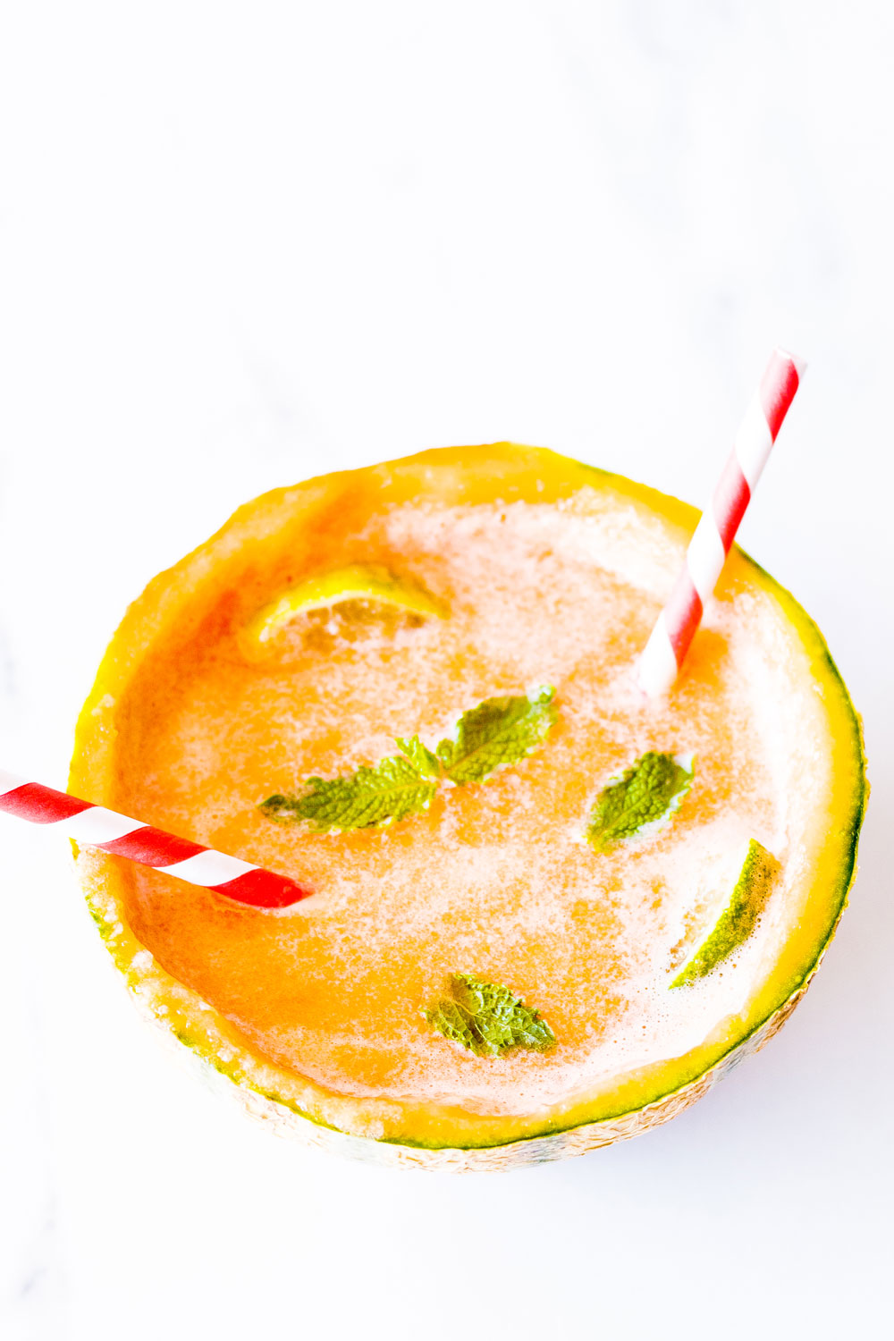 To get you in the spirit of summer, try this Citrus-Cantaloupe Mocktail Recipe, which only requires 4 ingredients and takes 5 minutes to whip up at home! https://www.spotebi.com/recipes/citrus-cantaloupe-mocktail-recipe/