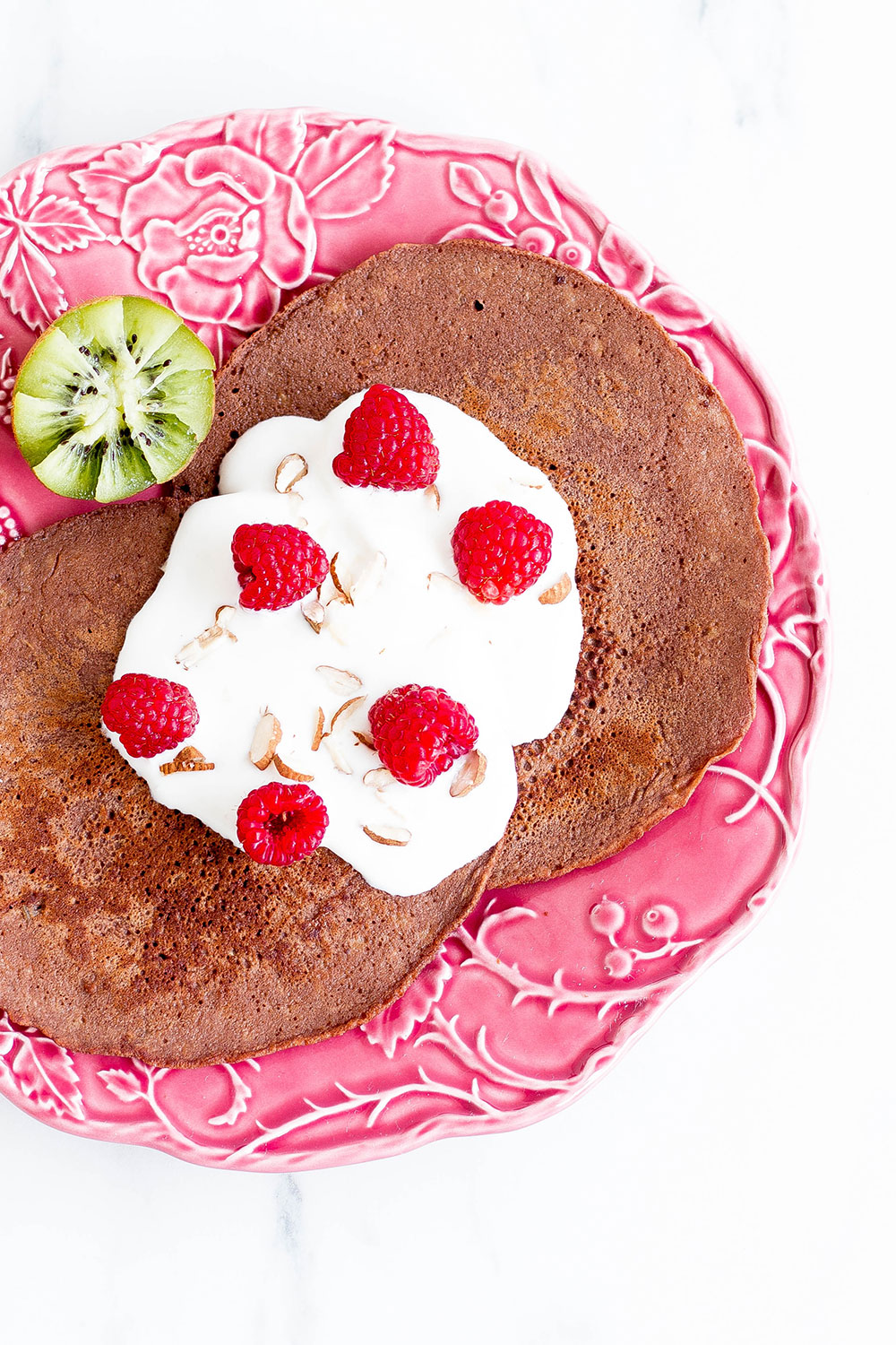 Pancakes are a breakfast favorite and these cacao and banana pancakes provide many essential nutrients without any added sugars or fats! https://www.spotebi.com/recipes/gluten-free-cacao-banana-pancakes/
