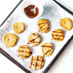 Gluten-Free Chewy Mixed Nuts Cookies Recipe / @spotebi