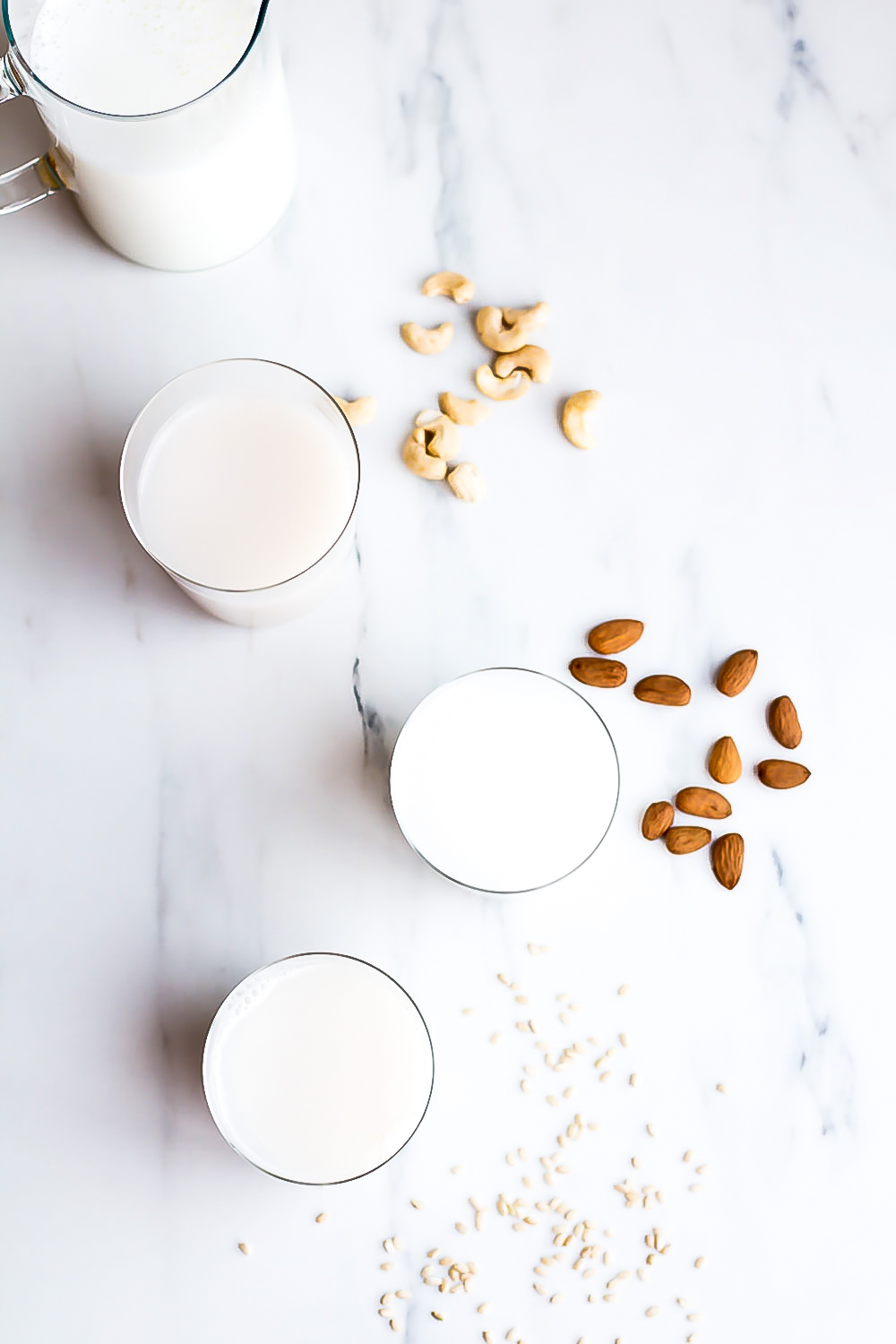 These homemade plant-based milk recipes are perfect for vegan, lactose-intolerant, or if you just want to change up your routine and add more flavor and healthy nutrients to your diet! https://www.spotebi.com/recipes/healthy-plant-based-milks/