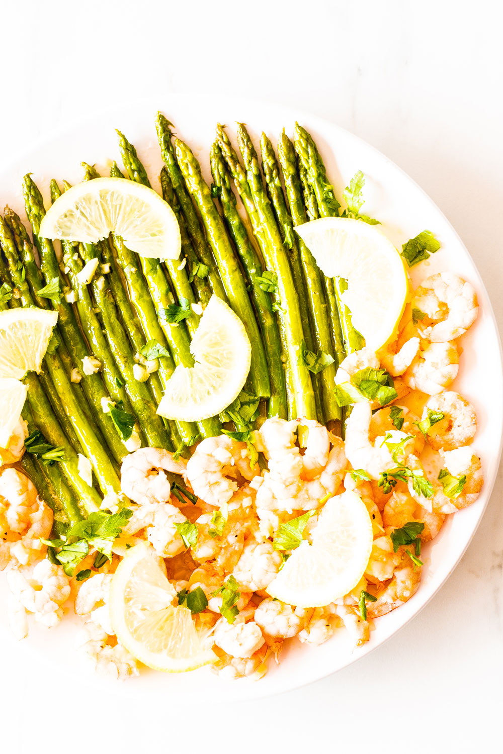 This Sauteed Garlic Shrimp with Asparagus recipe is perfect for a healthy, quick, and delicious dinner! It's packed with vitamins, minerals, protein, and fiber, and it's going to become your new favorite seafood dish! https://www.spotebi.com/recipes/sauteed-garlic-shrimp-asparagus/