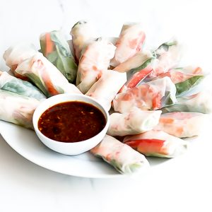 Shrimp Summer Rolls Recipe / @spotebi