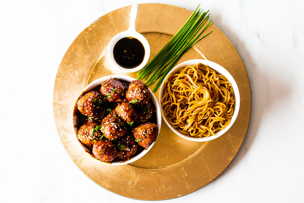 Not sure what to make for dinner? These sweet and savory caramelized pork meatballs are so easy and so delicious! https://www.spotebi.com/recipes/sweet-savory-caramelized-pork-meatballs/