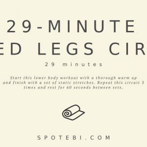 29 Minute Metabolism-Boosting Leg Circuit / @spotebi
