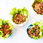 Low-Carb Chicken Lettuce Wraps Recipe / @spotebi