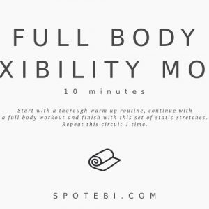 Flexibility Exercises Full Body Static Stretches / @spotebi