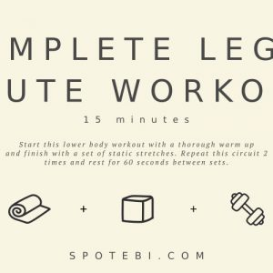 15-Minute Complete Leg & Glute Workout | Workout Videos