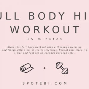 15-Minute Full Body HIIT Workout | Workout Videos