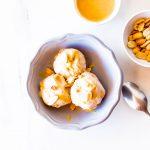 5-Minute Peanut Butter Banana Ice Cream / @spotebi