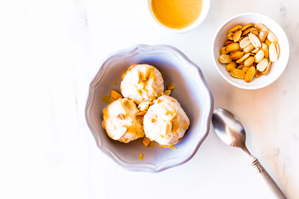 Looking for an amazing 5-Minute Peanut Butter Banana Ice Cream recipe? This super yummy homemade version is easy to follow, rich, smooth, and perfect for ripe bananas! https://www.spotebi.com/recipes/5-minute-peanut-butter-banana-ice-cream/
