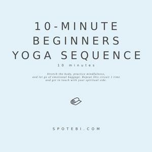 Yoga Essential Flow   Beginners Sequence / @spotebi